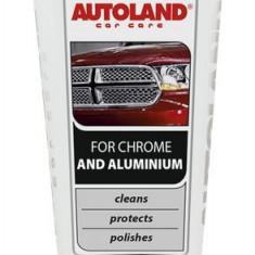 Sampon auto AUTOLAND Chrome si Aluminiu 150 g