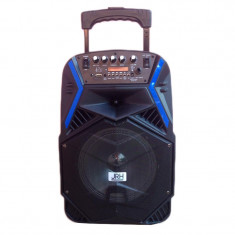 Cumpara ieftin Boxa portabila tip troler JRH A81, 1800 mAh, USB, microfon wireless