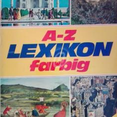 A-Z Lexicon farbig