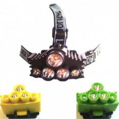 Lanterna Frontala 5 LEDuri BL915