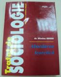 TRATAT DE SOCIOLOGIE-NICOLAE GROSU