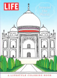 Around the World A Lifestyle Coloring Book