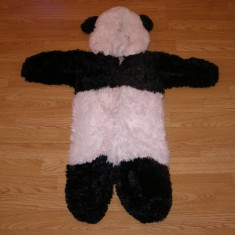 Costum carnaval serbare animal urs panda pentru copii de 3-4 ani, Din imagine