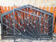 Vând gard din fier forjat demontat foto