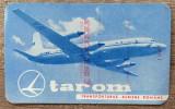 Calendar reclama TAROM 1961
