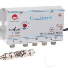 Amplificator TV cablu, splitter 4 iesiri, 1020MK4 - 110801