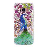 Cumpara ieftin Husa Samsung Galaxy S8 Model Peacock, Fosforescenta, Antisoc, Viceversa