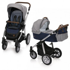 Carucior 2 in 1 Baby Design Dotty 03 Navy