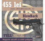 Pistol XXL Sig Sauer NAVY Full Metal Cybergun Blow back Airsoft, Cyber Gun
