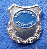 Insigna Militara MINISTERUL JUSTITIEI - Coifura insemn cascheta
