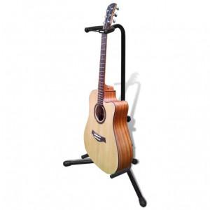Stativ pentru chitară, reglabil și pliabil
