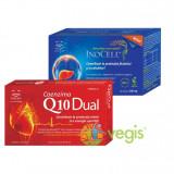 Pachet Activ Plus Circulatie Inocell 60cpr + Coenzima Q10 Dual 30cps