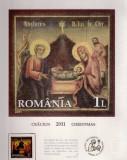 ROMANIA  2011  CRACIUN -  Cromolitografie   LP 1921c
