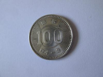 Japonia 100 Yen 1965 argint foto