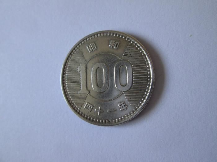 Japonia 100 Yen 1965 argint