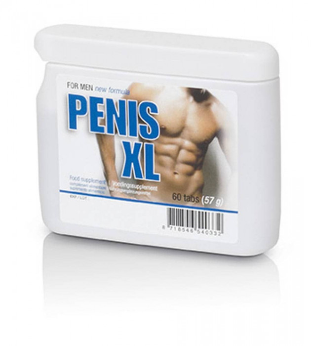 Supliment Pentru Erectie Penis XL, 60 Tablete