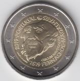 PORTUGALIA moneda 2 euro comemorativa 2019 - Magellan UNC