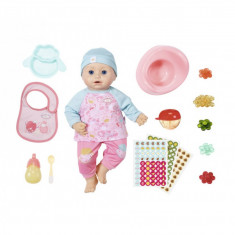 Papusa Baby Annabell - Papusa si accesorii, imita functii reale, 43 cm