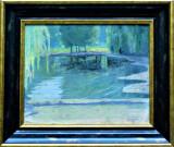 Pictura Tablou Pictor ungur ,,Lac''