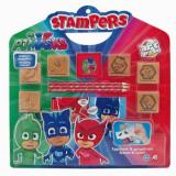 Set stampile Stampers - Eroi in pijama