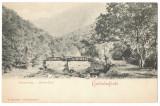 5082 - HERCULANE, Caras-Severin, Bridge, Romania - old postcard - unused