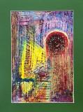 Marcel Bunea , abstract , ceracolor , 30 x 21 cm, Nonfigurativ, Pastel, Altul
