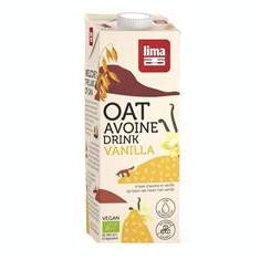 Lapte de Ovaz cu Vanilie Bio Lima 1L Cod: 5411788044776