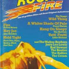 Caseta Rock-Fire -Die Top-Hits Der 60er Jahre:Rod Stewart,Brenda Lee,The Beatles