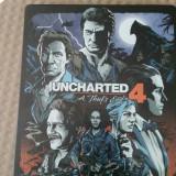 Vand joc PS4 , playstation 4 , colectie UNCHARTED 4 , steelbook