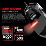 Mouse Gaming Fantech UX1 HERO Ultimate RGB, 16000 DPI, pixart 3389 sensor
