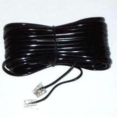 Cablu telefon 2m negru