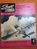 sport si tehnica aprilie 1971-avioanele romanesti,motociclete moderne