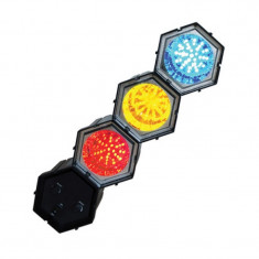 Lumini pentru petrecere Ibiza Running Light LED, 3 becuri, reglaj viteza