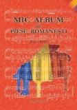 Mic album de piese romanesti pentru pian |