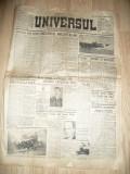 Ziarul Universul 8 Martie 1940 , 14 pag + supliment , cu reparatii
