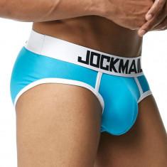 Sexy Chiloti Jockstrap Barbati Male JockMail Push Up Suspensor Boxeri Mesh Pouch