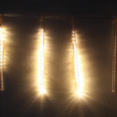 Ghirlanda luminoasa decorativa 8 turturi lumina alba cablu transparent WELL