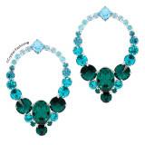 Cercei Round Janeiro Crystal-Fashion® Swarovski®