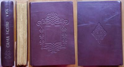 Candrea , Densusianu , Sperantia , Graiul nostru , 1906 , 2 vol. in coligat foto