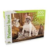 Puzzle Noriel 500 de piese - Prieteni buni