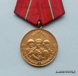 Medalia  -  VIRTUTEA  OSTASEASCA  clasa I a  -  R.S.R.