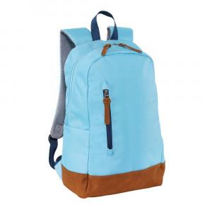 Rucsac albastru deschis, Everestus, RU14FN, poliester 600D, saculet de calatorie si eticheta bagaj incluse