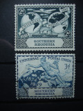 SOUTHERN RHODESIA 1949 SERIE UPU