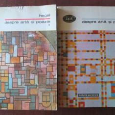 Despre arta si poezie