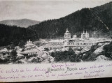Carte postala clasica, Manastirea Agapia,circulata, stare buna, Fotografie