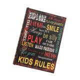 Cutie cu mesaje, model carte
