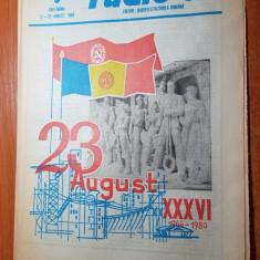 Revista radio-tv saptamana 17-23 august 1980