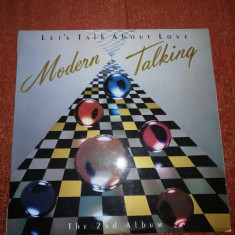 Modern Talking Let's Talk About Love 2nd Album Gong 1985 Hungary vinil vinyl