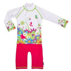 Costum de baie Flowers marime 98- 104 protectie UV Swimpy for Your BabyKids