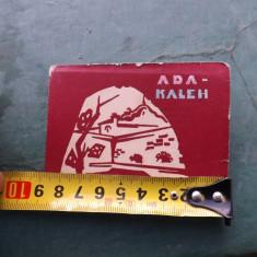 Carti postale,Ada Kaleh,perioada interbelica.
